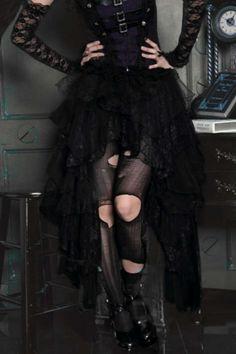 Lace skirt gothic lace skirt gothic skirt