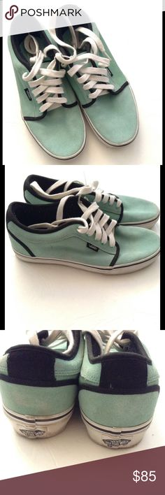 3d92d2f6866 Shop Women s Vans Green Black size Athletic Shoes at a discounted price at  Poshmark.