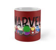 Marvel Tiggles Mug by Laura's Lovelies on RedBubble Marvel Comics, Avengers, Wolverine, Spider-Man, Thor, Hulk, Iron Man, Captain America, Black Widow, superheroes
