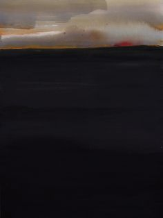 Koen Lybaert - Lake Tchimba - watercolor on paper [40 x 30] / 2015 #KoenLybaert #Abstract #Art