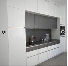 Most Popular Kitchen Design Ideas for 2019 Luxury Kitchen Design, Kitchen Room Design, Luxury Kitchens, Living Room Kitchen, Interior Design Kitchen, New Kitchen, Home Kitchens, Kitchen Decor, Kitchen Ideas