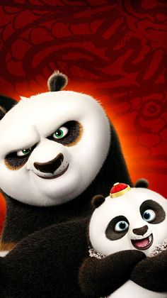 Kung Fu Panda Quotes, Kung Fu Panda 3, Minion Wallpaper Iphone, Disney Phone Wallpaper, Phone Backgrounds, Panda Wallpapers, Movie Wallpapers, Cartoon Panda, Cartoon Art