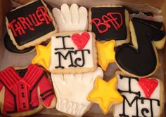 Michael Jackson, thriller, bad, I love MJ, cookies