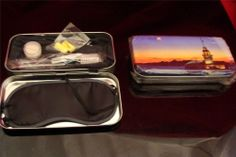 Limited Edition TURKISH AIRLINES Tin Amenity Kit Istanbul Sunset Lot 2