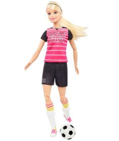 Barbie Made to Move Soccer Player