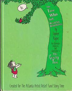 The Giving Tree- Alternate Ending Pollock Paintings, The Giving Tree, Shel Silverstein, Rainbow Fish, Children's Literature, Program Design, Story Time, Books To Read, Children's Books