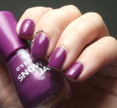 The Clockwise Nail Polish: Essence Lilac is My Style