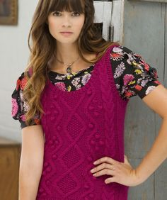 Study Hall Vest - free Knitting pattern - would look great with button up shirt