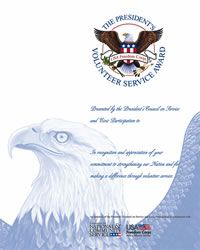 President's Volunteer Service Award program as a way to thank and honor Americans who volunteer. Find fun #homeschool electives