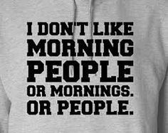 i don't like morning people - Google Search
