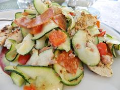 I love zucchini, which is weird for me, because I never liked it before I started low-carbing. It's such a valuable vegetable for us low-car...