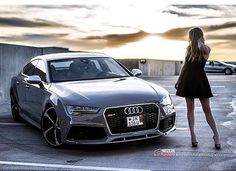 Welcome to #AudiRS heaven: #Audi #RS7 and @hashtagdoggietreats dream couple oooo  @modernchaos.photography oooo are you #audidriven? - for repost & like oooo #AudiRS7 #quattro #quattroGmbH #AudiSport #greyAudi #Daytonagrey #Audicolor #turbo #biturbo #v8  #amazing #beautiful #heaven #AudiS7 #S7 #Daytonagray