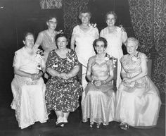 Alpha Gamma Delta photo of their Founders at Convention in 1954!