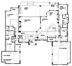 First Floor Plan image of Featured House Plan: BHG - 1892 ...