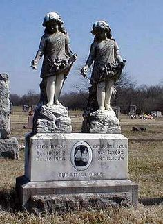 Worsley Cemetery, Vernon Co., MO. Looks like they were not sisters because they were born a couple months apart but died on the same day. Sad.