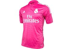 adidas Real Madrid Away Jersey yours at SoccerPro! Soccer Gear, Soccer Jerseys, Real Madrid Shirt, Jersey Atletico Madrid, Adidas, Sports, Mens Tops, Clothes, Kleding