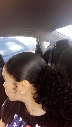 hairstyles 2018 naturally curly hairstyles hairstyles haircut hairstyles with weave hairstyles oval face shape hairstyles indian hair hairstyles hairstyles middle part Slick Hairstyles, Baddie Hairstyles, Pretty Hairstyles, Braided Hairstyles, Hairstyle Ideas, Asian Hairstyles, Simple Curly Hairstyles, 1980s Hairstyles, Mixed Girl Hairstyles