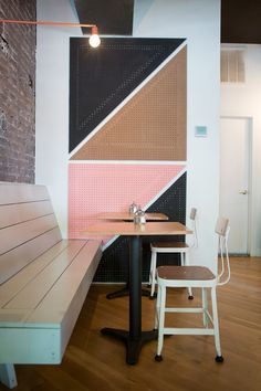 Aussie Style Invades Brooklyn at Brunswick Cafe @remodelista / Get started on liberating your interior design at Decoraid (decoraid.com).