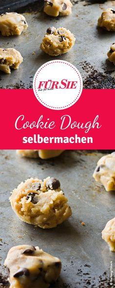 Egal ob roh oder in Eis. Cookie Dough geht immer. Wir sagen euch wie ihr rohen Keksteig macht ohne Bauchschmerzen.
