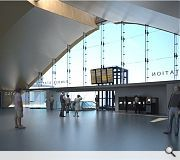 An arched concourse will echo the great Victorian train sheds Built Environment, Dundee, Sheds, Scotland, Cities, Victorian, Train, How To Plan, Architecture