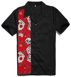 15ce7fff3 Mens Retro Vintage Bowling Shirts Plus Size Shirt. Casual ShirtsMen ShirtsWork  ShirtsVintage MenRetro VintageRockabilly StyleRockabilly FashionFifties ...