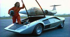 Bertone Lancia Stratos HF Zero. 1970