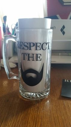 Check out this item in my Etsy shop https://www.etsy.com/listing/222416515/respect-the-beard-mug