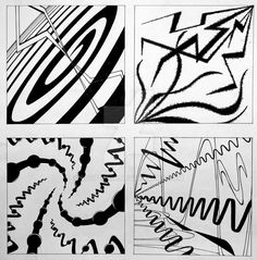 Design - Line Types by Graphic Design Lessons, Monochromatic Art, Abstract Geometric Art, Exotic Art, Design Basics, Composition Design, Principles Of Design, Elements Of Art, Teaching Art