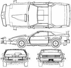 Blueprints > Cars > Pontiac > Pontiac Firebird K.T Knight Kitt Knight Rider, 80 Tv Shows, Biker Tattoos, Trans Am, Car Drawings, Pontiac Firebird, Cool Cars, Dream Cars, Super Cars