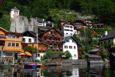 Hallstatt, Salzkammergut, Oberösterreich, Østerrike. Foto: Ana Lucia Marcos ©