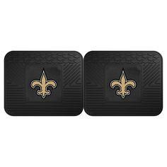 NFL Fan Mats 2 Utility Mats - New Orleans Saints