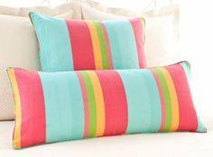 Stripe Color Decorative Pillows