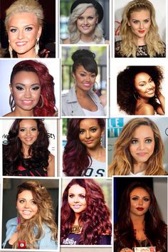 Little mix through the years. Aww they've grown so much:,) (cred to Ashley is amazing)