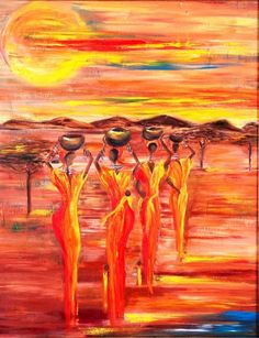 Sunny South Africa Painting -  By Marietjie Henning