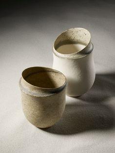 """Jennifer Lee - ceramics - U-Tsu-Wa  Photo: Hiroshi Iwasaki @STASH for 21_21 DESIGN SIGHT """"U-Tsu-Wa"""""""
