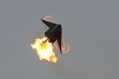 "F-111 A8-129 performing a ""Dump and Burn"