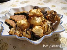Saftige Kokosmakronen mit Marzipan