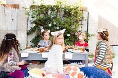 Halloween party for Kids | Styling by Jen Pinkston | Photos by Stephanie Godfrey | 100 Layer Cakelet