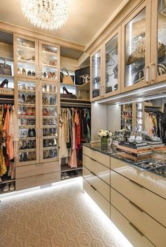 2018 DHDA: Interiors - Detroit Home Magazine - Closet, Neat Method Professional Organizing with California Closets - Dream Closet Design, House, Home, Luxury Homes, Cheap Home Decor, Closet Designs, Closet Decor, Closet Design, House And Home Magazine