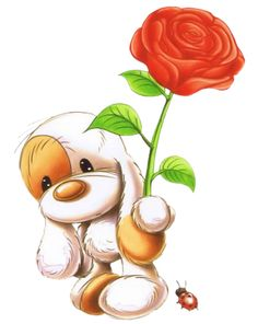 Images Gif, Cute Images, Cute Pictures, Rosas Gif, Fizzy Moon, Cute Alphabet, Blue Nose Friends, Puppy Images, Baby Clip Art