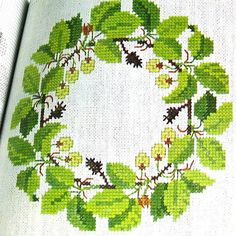 1973 Cross-Stitch Pattern book