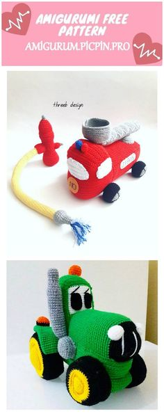 We continue to provide you with the latest recipes related to Amigurumi. Amigurumi classic car free crochet pattern is waiting for you. Crochet Toys, Free Crochet, Ruby Red, Free Pattern, Classic Cars, Dinosaur Stuffed Animal, Crochet Necklace, Projects To Try, Crochet Patterns