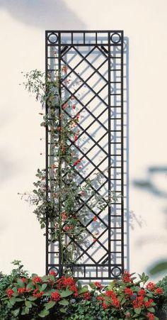 Garpa Garden Furniture Shop - Plant Supports Wall Trellis narrow