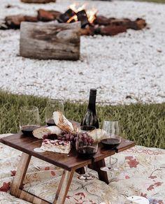 Fall Picnic, Picnic Set, Summer Picnic, Folding Picnic Table, Wine Table, Byron Bay, Queso, Love Food, Winter