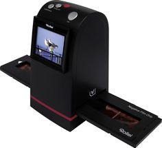 Rollei DF-S 190 SE Scanner (9 Megapixel Dia/Negativscanner, 6, 1 cm (2, 4 Zoll) Display, 3600 DPI, 10 Bits pro Farbkanal, TV-Ausgang, 24 MB Speicher)