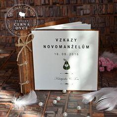 Svatební vintage kniha A5 - na vzkazy / Zboží prodejce Atelier Černá ovce | Fler.cz