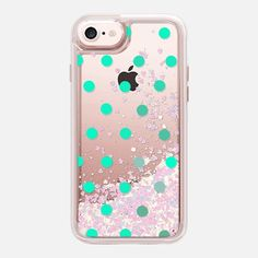 minty dots - Classic Grip Case