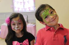 Kids face painting #magicbrush Face Design, Painting For Kids, Carnival, Mardi Gras, Carnivals