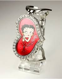 Stud Earrings New Arrived Lovely Charming Betty Boop Baby Stud Earrings Cute Cartoon Antique Bronze Plated Stud Earring For Friends To Reduce Body Weight And Prolong Life