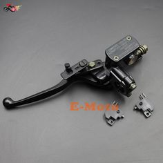 Chinese ATV Hydraulic Brake Master Cylinder Left Lever PARKING LOCK With Brake Switch For 50 70 90 110 125 200 250 CC Quad new